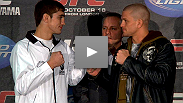 Veteran Mike Pyle and rising star John Hathaway address the media at the UFC 120 pre-fight press conference.