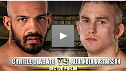 UFC® 120 Prelim Fight: Alexander Gustafsson vs Cyrille Diabate