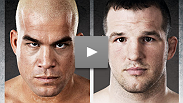 In a jaw-dropping matchup, Matt Hamill takes on his former coach and mentor, Tito Ortiz. Will Tito tone down his trash talk out of respect for their relationship? Yeah right. See Countdown to UFC 121.