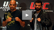 Big power, big personalities, big implications for the division - hear from Jorge Rivera and Alessio Sakara at the pre-UFC 122 press conference.