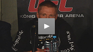 "Hometown hero Dennis Siver talks about the improved ground game that earned him ""Submission of the Night"" at UFC 122."