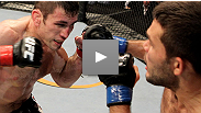UFC 122: Amir&#39;s always-improving striking is on display in a fight he &quot;had to win&quot; - hear how he feels about being a shoo-in for the belt.