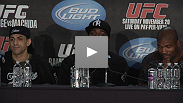 Davis and Sotiropoulos: The victors talk about their wins at UFC 123 Saturday night.