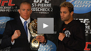 UFC 124 pre-fight press conference: GSP and Koscheck talk mind games, motivation and more in Montreal.