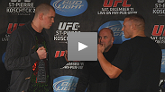 UFC 124 press conference highlights: Stefan Struve deals with the heat; Sean McCorkle adjusts to the spotlight.