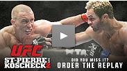 UFC 124: Fast finishes, dominant performances and a reigning champ - see all the action again at UFCLive.com.