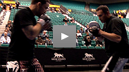 UFC Lightweight Champion Frank Edgar and Contender Gray Maynard's boxing coaches on how far their fighters have come in the stand up game.