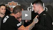 Chris Leben and Brian Stann - guys with two of the biggest heads and smallest egos in the sport - talk about their upcoming fireworks show.