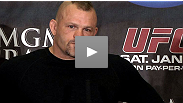 Dana White announces UFC Hall of Famer Chuck Liddell&#39;s next move at the UFC 125 press conference in Las Vegas, Nevada.