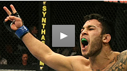 Brad Tavares thanked the fans who got his Baroni fight on TV by giving them an exciting first-round finish.