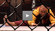 See the stars of UFC 126 take their first steps into the Octagon.