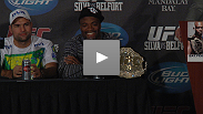 "Anderson Silva returns to form and answers questions about his first-round finish, ""the kick,"" and GSP."