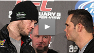 Forrest Griffin lets Rich Franklin do most of the talking in advance of their bout at UFC 126.