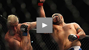 Mark Hunt revels in his long-overdue win - one he scored in front of a screaming Aussie audience by stopping Brock's training partner Tuchscherer.