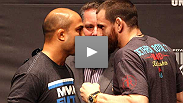 BJ Penn and Jon Fitch evaluate one another&#39;s strengths, strategy and anatomy at the UFC 127 pre-fight press conference.