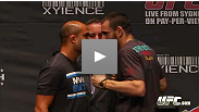 BJ Penn and Jon Fitch have (mostly) kind words for each other, while Bisping and Rivera continue to trade barbs at the UFC 127 pre-fight press conference.