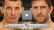Luta preliminar do UFC® 127: Anthony Perosh vs Tom Blackledge