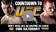 Watch the entire Countdown to UFC&reg; 89: Bisping vs Leben show right here!