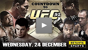 Get a sneak peek at Countdown to UFC&reg; 92.