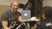 Fighters get their hands wraped hours before their fights
