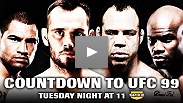 Get a sneak peek at Countdown to UFC® 99
