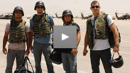 UFC® and WEC® fighters visit the troops in Afghanistan this past summer