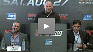 UFC president Dana White talks about the promotion's return to the home