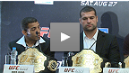 UFC in Rio presser: Shogun, Aldo, Gracie