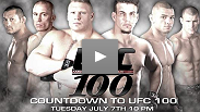 Get a Sneak Peek at Countdown to UFC® 100