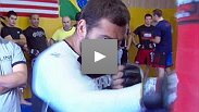 Gabriel Gonzaga Training Session