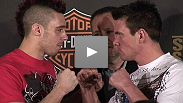 Dan Hardy and Rory Markham on slugging it out at UFC® 95 Sat. Feb. 21st