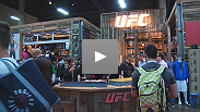 The UFC® debuts its new line of lifestyle apparel at MAGIC in Las Vegas.