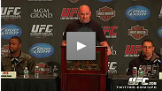 Dana White hosts pre-108 press conference