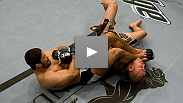 BJJ black belt Rousimar Palhares demonstrates his martial art in his UFC debut against Ivan Salaverry.