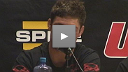Diego Sanchez at the TUF Finale post fight press conference