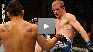 TUF winner Efrain Escudero was undefeated - at least until he stepped into the cage with UFC Fight for the Troops 2 headliner Evan Dunham last January.