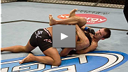 Cole Miller locks a triangle onto the BJJ ace and doesn't let go. See Miller September 15 at UFC Fight Night.
