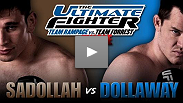 Amir Sadollah and CB Dollaway will meet once again to see who is The Ultimate Fighter!