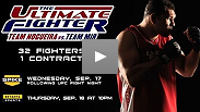 Watch the first scenes of the premiere episode of the new season of Ultimate Fighter