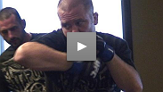 Fighters prepare for their fights at The Ultimate Fighter Finale