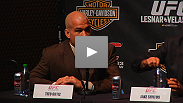 Tito Ortiz and Matt Hamill talk about the foundations of wrestling and MMA at the UFC 121 pre-fight press conference.