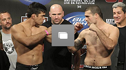 UFC® 104 Weigh-in photos