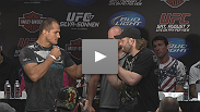 Hear how the high-profile heavyweights are dealing with being in the shadow of the main event's hype - and what it means for the winner at UFC 117 to get a title shot.