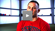 Frankie Edgar worked hard to get the title, and he knows he has to work even harder to keep it... and maybe steal a little of BJ's aura.