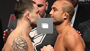 UFC 118 weigh-in photos: Edgar vs. Penn 2 and Couture vs. Toney