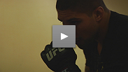 UFC 121's Brendan Schaub walks you through the last workout before an event and shares what's on a fighter's mind.