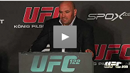 Hear from Dana White, Yushin Okami, Krzysztof Soszynski, Dennis Siver, Pascal Krauss, Kyle Noke, and Nate Marquardt after UFC 122 in Oberhausen, Germany. *Conference starts at minute 3