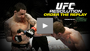 Did Fight of the Year go down on January 1? Some say yes - if you missed a minute of the non-stop action, catch the replay at UFCLive.com.