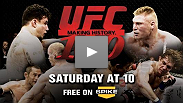 Brock Lesnar vs Frank Mir and the Knockout Heard &#39;Round the World from Henderson!