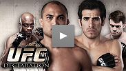Watch the preview to UFC® 101: Declaration